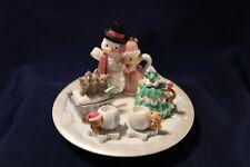 Precious Moments by Enesco 548197 Winter Mini Tea Set