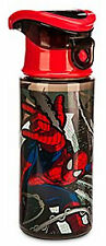 Disney Store Marvel Spider Man Water Bottle New