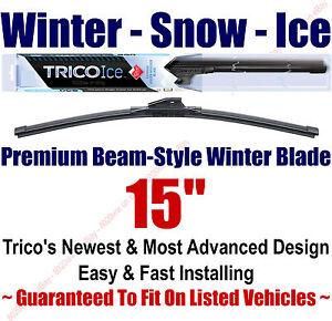 "15"" WINTER Wiper Blade - Super Premium Beam-Style - Trico ICE 35-150"