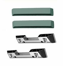 1964 - 1966 Mustang Arm Rest Set -Turquoise- Arm Rest Base and Pad Included