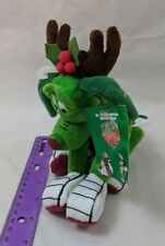 Warner Bros. Studio Store K-9 Green Dog Reindeer Plush Bean Bag Beanie w/ Tag