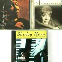 Shirley Horn 3 CD Bundle Loving You Won't Forget Me Light Darkness Ray Charles
