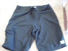 Hawaiian SaH seasoned w/ Aloha Men's  Boarding Swimming Shorts  Black size 36