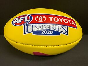 2020 AFL FINALS SERIES SHERRIN OFFICIAL LEATHER GAME FOOTBALL Richmond Premiers