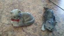 "Vintage Danbury Mint Cats of Character Lot- ""Sunday Best"" and ""Stalking"""