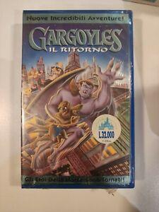 GARGOYLES IL RITORNO - VHS WALT DISNEY con STICKER PREZZO NUOVA SIGILLATA!