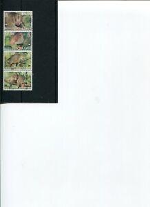 2002 WWF Solomon Islands Grey Cuscus 4v set MNH POST-FREE