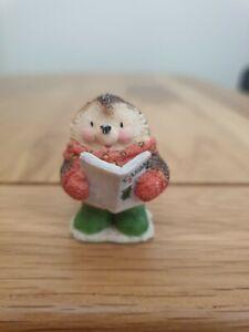 Hedgehog Singing Carols Ornament