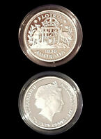 1938 99.9% Proof Silver FLORIN from 1998 Masterpieces Silver Set - 13.36g 20c