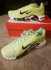 Nike Air Max Plus PRM TN Lime Blast Mens Running Sneakers 815994 300
