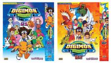 ANIME DVD Digimon Adventure 01~02 Vol.1-104 End ENGLISH DUBBED + FREE DVD
