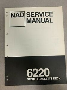 NAD 6220 Service Manual