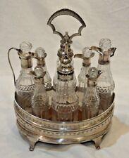 Late 18th Century Peter Anne & William Bateman Sterling Silver Cruet Set