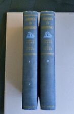 "1939 1st Edition Hardcover ""AMERICA IN MIDPASSAGE"" 2 Volume Set"