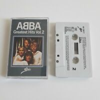 ABBA GREATEST HITS VOL. 2 CASSETTE TAPE EPIC CBS UK 1979