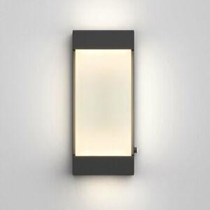 Artika Wall Light Glacier Integrated LED Outdoor / Indoor in Matte Black