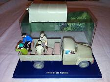 C1 Voiture Tintin 65 et les picaros Le camion d'alcazar
