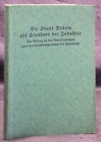 Stockmann Die Stadt Döbeln als Standort der Industrie 1928 Geschichte Sachsen sf