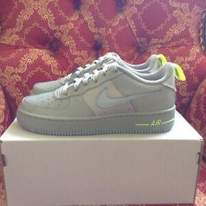 Nike Air Force 1 '07 LV8(GS)  B Grades Particle Grey DD3227-001 Size 6y