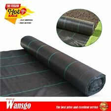 Pp Grass Waterproof Cloth 4Ftx50Ft Durable Weed Barrier Landscape Fabric 3.2oz