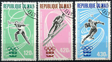Mali 1976 SG#521-3 Winter Olympic Games Cto Used Set #D97184