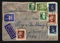 Germany DDR 1952 Cover to South Africa w/ Better - Z14111