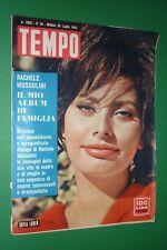 Loisirs 1962 Sofia Loren Alberto Moravia Grace KELLY Album De Rachele Mussolini
