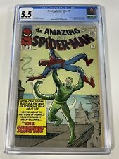 Amazing Spider-Man 20 CGC 5.5 1st Appearance App Of The Scorpion (Sinister Six)