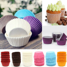 100* Mini Paper Cake Cupcake Liner Case Wrapper Muffin Baking Cup Dessert Party
