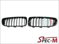 P Style /// M Tri Shiny Black Front Grille For BMW F32 420i 428i 435i Coupe 2Dr