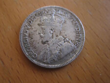 1928 Canada 25 Cent -  King George V Silver Quarter