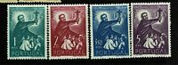 Portugal SC# 753-756, Mint Hinged, Hinge/Page Remnants, 753 ink remnant - S6721