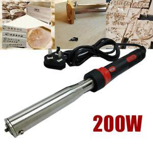 Portable 150/ 200W Iron Stamping Branding Machine Leather Heat Embosser Wood