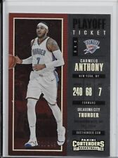 2017-18 Panini Contenders Playoff Ticket Carmelo Anthony #171/249