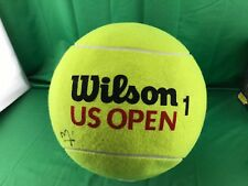 Wilson Us Open Jumbo Ball With (Two Signature) (Unknow Any Help)