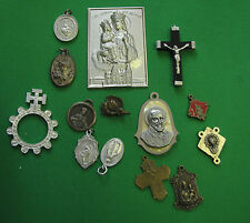 lot 14 x Catholic Medal religious
