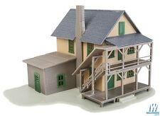 Walthers #931-914 Trainline HO Rooming House,  building Kit HO SCALE FREE POST