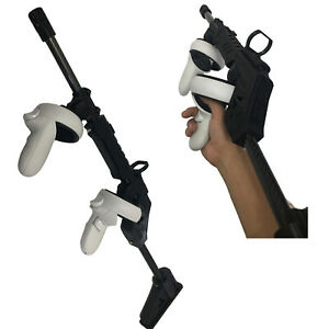 VR Shooting Game Gun Stock Professional For Oculus Quest 2 VR Touch Controllers