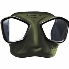 Mares Viper Spearfishing Freediving Scuba Diving Dive Mask - Green- 421411