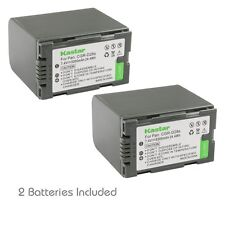 2x Kastar Battery for Panasonic CGR-D28 AG-EZ50U AG-HVX200 AJ-PCS060G DZ-MX5000