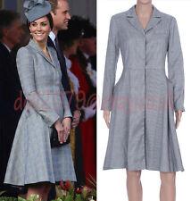 Knee Length Cotton Blend Long Sleeve Shirt Dresses