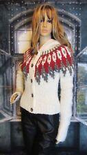 ABERCROMBIE & FITCH Fair Isle Nordic Chunky Wool Alpaca Sweater Sz M Beautiful