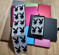 90 Authentic Playboy Bunny Tanning Bed Body Stickers w/ Carrying Case