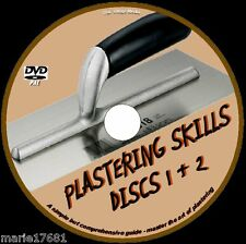 LEARN HOW TO PLASTER TUITION GREAT PLASTERING TRAINING FOR DIY & TRADE DVD NEW