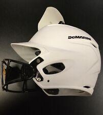 DeMarini Paradox Pro Fitted Batting Helmet MD 7 1/8-7 1/4 Softball Mask White