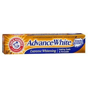 Arm & Hammer Advance White Fluoride Toothpaste Baking Soda and Peroxide