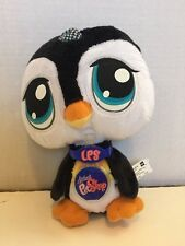 Littlest Pet Shop VIPs Plush Penguin With Code New With Tag Interactive LPS