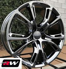 "22"" inch RW Wheels for Jeep Grand Cherokee Dark Chrome Rims SRT8 Spider Monkey"