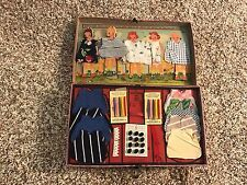 Rare 1940 Little Travelers Sewing Kit Complete
