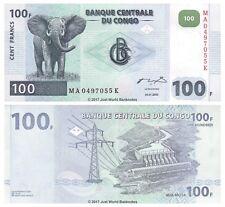 Congo 100 Francs 2000  P-92 Banknotes UNC